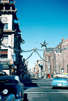 Photograph - Grant Street 1956 by Cumberland Warden