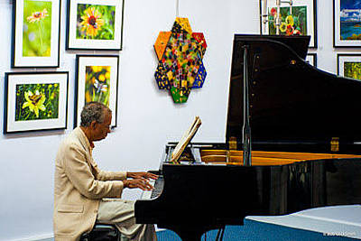 Photograph - Grant Venerable On Piano by Tracie L Hawkins