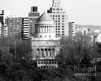 Photograph - Grants Tomb by Kathy Flood