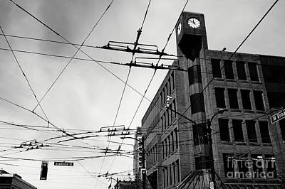 Photograph - Granville And Broadway Vancouver by John  Mitchell