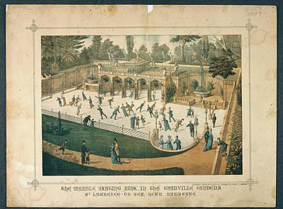 Granville Gardens Art Print