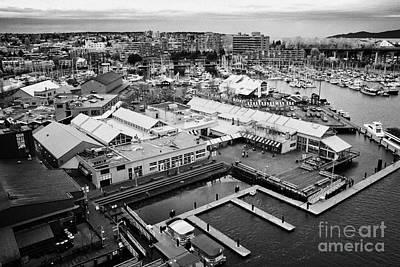 Granville Island Photograph - granville island public market Vancouver BC Canada by Joe Fox