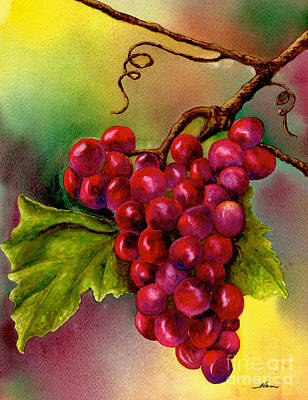 Painting - Grape Cluster by Nan Wright