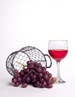Photograph - Grape Juice by Michael Dorn