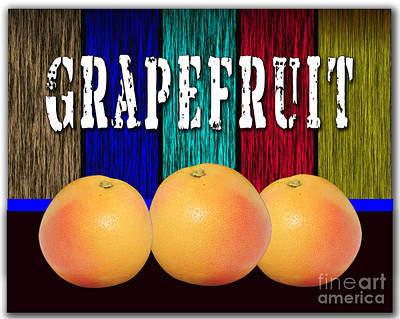 Grapefruit Mixed Media - Grapefruit by Marvin Blaine