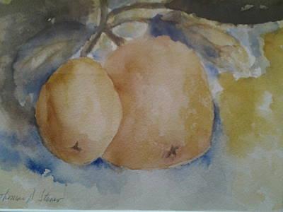 Grapefruit On A Tree Original by Tom Steiner