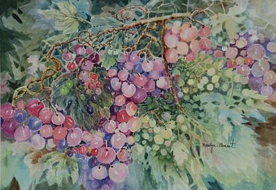 Painting - Grapes Galore by Marilyn  Clement