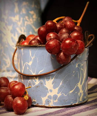 Photograph - Grapes by Joseph Skompski