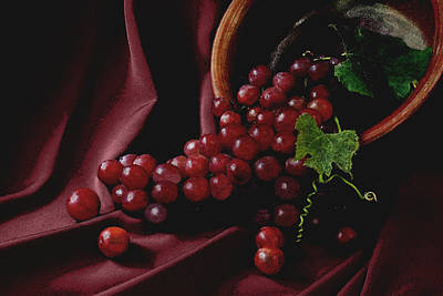 Photograph - Grapes by Michael Moschogianis