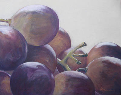 Grapes No.5 Art Print