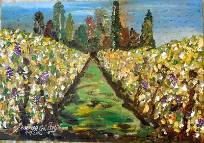 Grapes Of Tuscany Art Print
