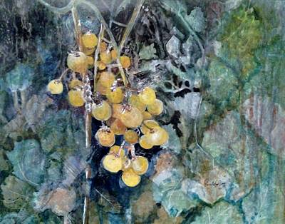 Painting - Grapes Of Wrath by Paula Day