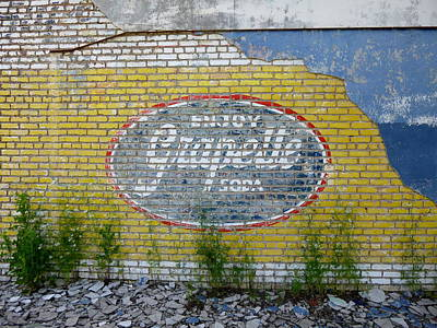 Grapette Sign Art Print by Kay Sparks