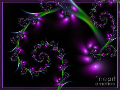 Grapevines Digital Art - Grapevine by Lena Auxier