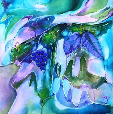 Grapevine Twist Art Print by Pat Purdy