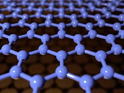 Planar Photograph - Graphene by Indigo Molecular Images