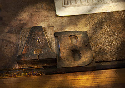 Photograph - Graphic Artist - Ab by Mike Savad