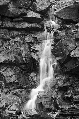 Photograph - Graphite Falls II by Morris  McClung