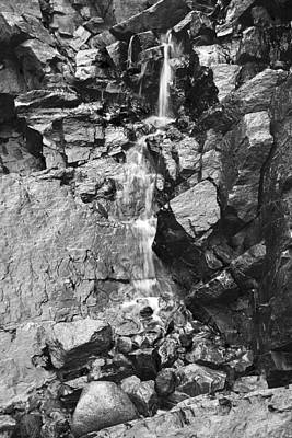 Photograph - Graphite Falls by Morris  McClung