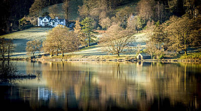 Photograph - Grasmere Lake District England by Alex Saunders