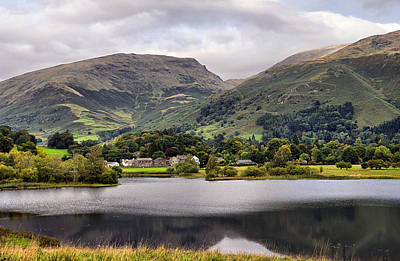 Grasmere Lake Art Print