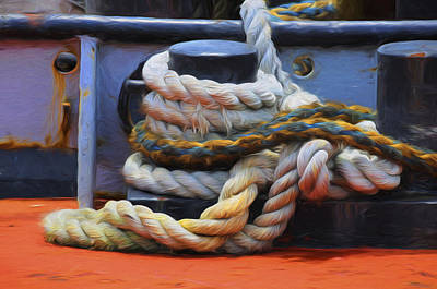 Photograph - Grasping At Ropes by Jody Lovejoy
