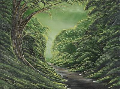 Lisa Rodriguez Painting - Grass Is Greener Here by Lisa Rodriguez