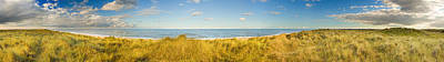 Horsey Photograph - Grass On The Beach, Horsey Beach by Panoramic Images