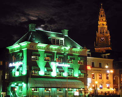 Holland Photograph - Grasshopper Bar by Adam Romanowicz