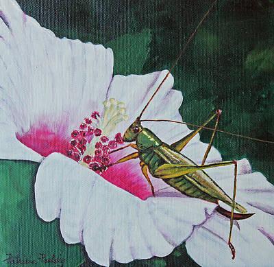 Grasshopper Original by Patricia Pasbrig
