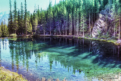 Autumn Painting - Grassi Lake by Jo-Anne Gazo-McKim