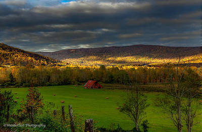Photograph - Grassy Cove Tennessee by Paul Herrmann