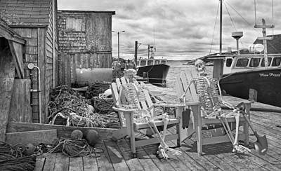 Halifax Nova Scotia Photograph - Grateful Buddies by Betsy Knapp