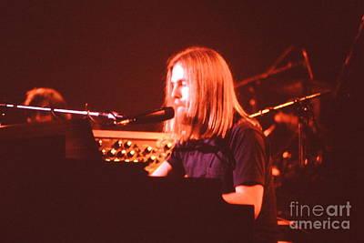 Photograph - Grateful Dead Concert - Brent Mydland by Susan Carella
