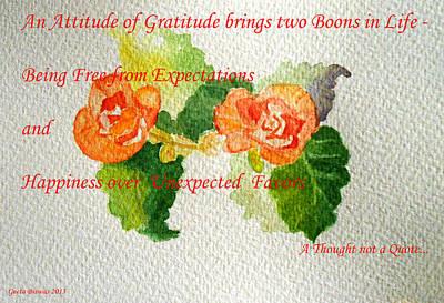 Painting - Gratitude by Geeta Biswas
