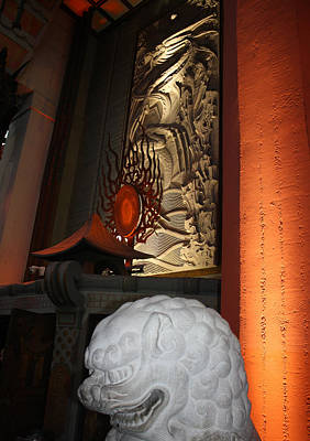Photograph - Grauman's Chinese Theatre by David Nicholls