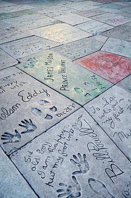 Grauman's Chinese Theatre Footprints Art Print