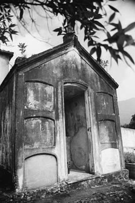 Print featuring the photograph Grave by Amarildo Correa