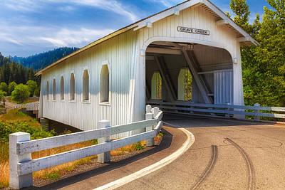 Photograph - Grave Creek Bridge by Thomas Hall