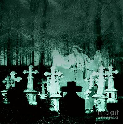 Digital Art - Grave Dancing by Desiree Paquette