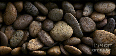 Gravel Stone Rock Spa Massage Background Original by Suriya  Silsaksom