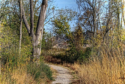 Photograph - Gravel Trail by Richard Gregurich