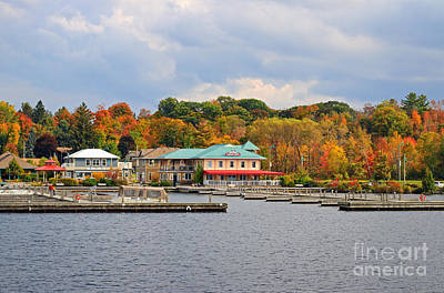 Photograph - Gravenhurst Harbour by Charline Xia
