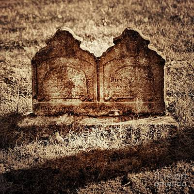 Grave Photograph - Graves by HD Connelly