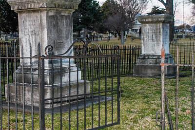 Photograph - Graveyard In Graveyard by Robert Hebert