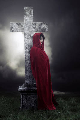 Churchyard Photograph - Graveyard by Joana Kruse