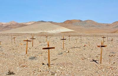 Photograph - Graveyard Columbus Nevada by Marilyn Diaz