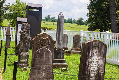Photograph - Graveyard by Robert Hebert