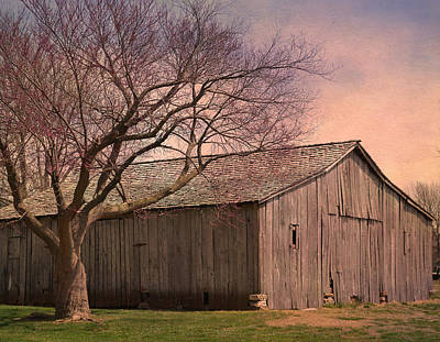 Photograph - Gray Campbell Farmstead Barn by Deena Stoddard
