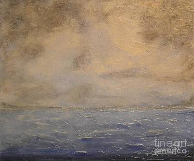 Painting - Gray Dawn by Lori Jacobus-Crawford